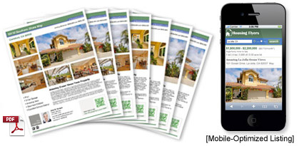 Free printable real estate and rental flyers. Craigslist(TM) html templates. Listing syndication. Property video slideshows.